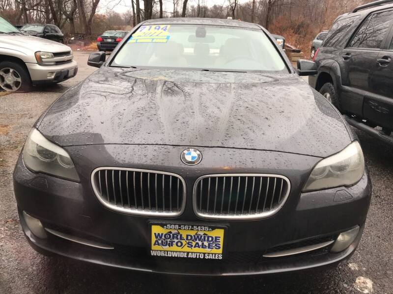 2011 BMW 5 Series for sale at Worldwide Auto Sales in Fall River MA
