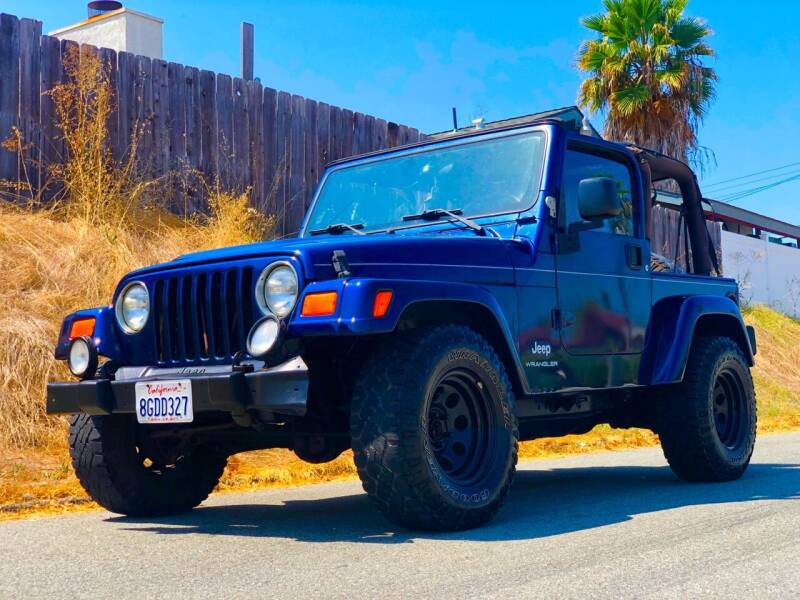 2003 Jeep Wrangler for sale at Elite Car Center in Spring Valley CA