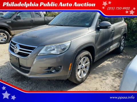 2010 Volkswagen Tiguan for sale at Philadelphia Public Auto Auction in Philadelphia PA