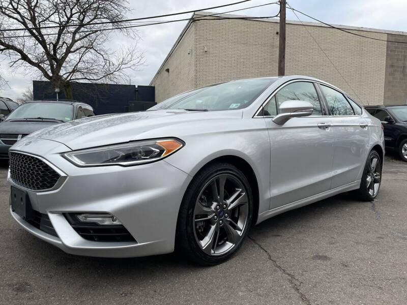 2018 Ford Fusion for sale at Vantage Auto Wholesale in Lodi NJ