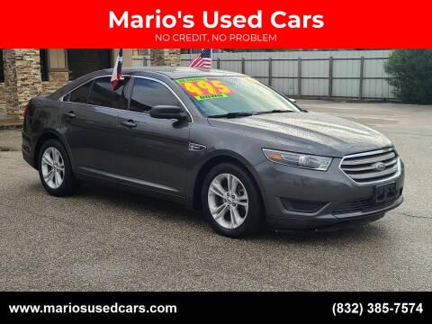 2015 Ford Taurus for sale at Mario's Used Cars - Pasadena Location in Pasadena TX