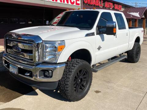 2015 Ford F-350 Super Duty for sale at Affordable Auto Sales in Cambridge MN