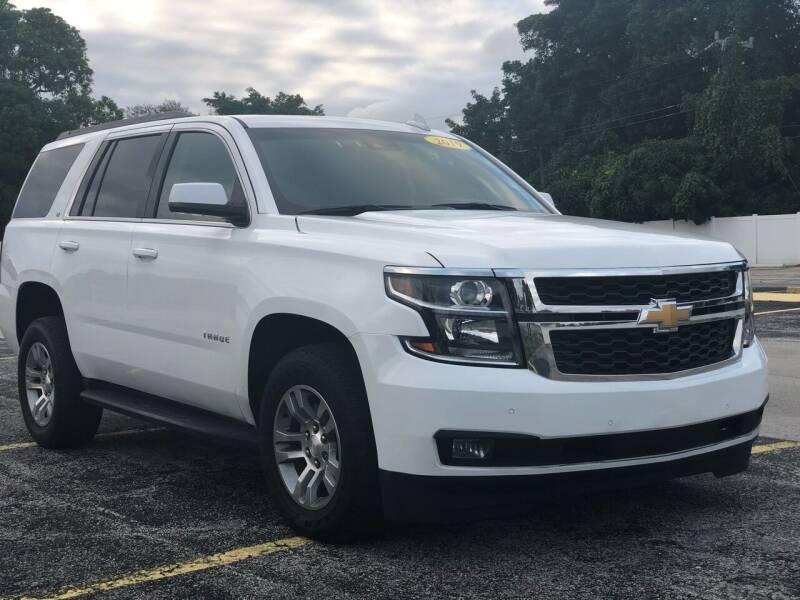 2019 Chevrolet Tahoe for sale at Guru Auto Sales in Miramar FL