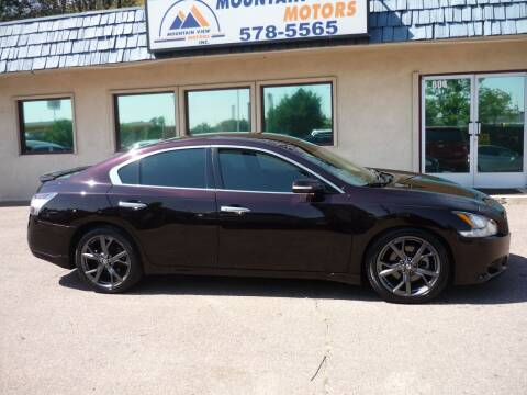2014 Nissan Maxima for sale at Mountain View Motors Inc in Colorado Springs CO