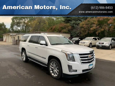 2020 Cadillac Escalade ESV for sale at American Motors, Inc. in Farmington MN