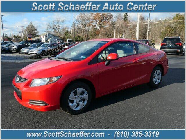 2013 Honda Civic for sale at Scott Schaeffer Auto Center in Birdsboro PA