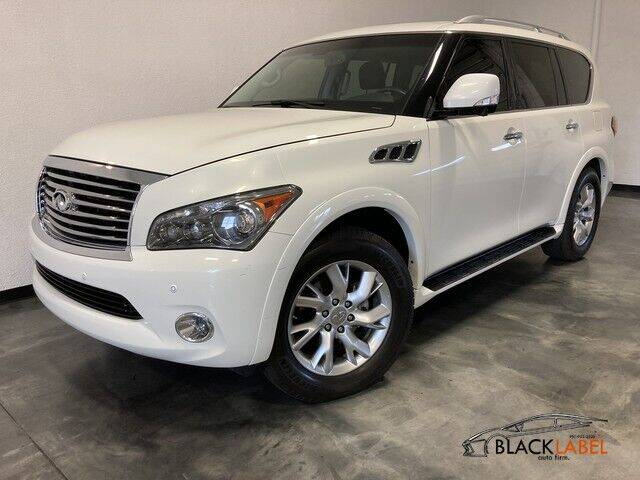 2014 Infiniti QX80 for sale at BLACK LABEL AUTO FIRM in Riverside CA