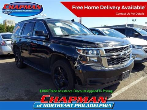 2019 Chevrolet Tahoe for sale at CHAPMAN FORD NORTHEAST PHILADELPHIA in Philadelphia PA