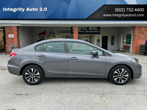 2014 Honda Civic for sale at Integrity Auto 2.0 in Saint Albans VT