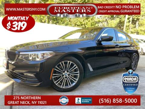 2017 BMW 5 Series for sale at European Masters in Great Neck NY