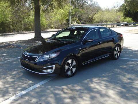 2012 Kia Optima Hybrid for sale at ACH AutoHaus in Dallas TX