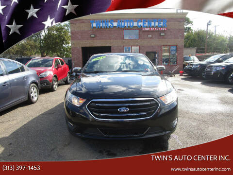 2014 Ford Taurus for sale at Twin's Auto Center Inc. in Detroit MI
