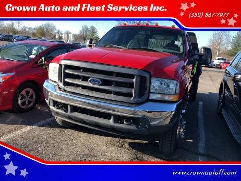 2004 Ford F-450 Super Duty for sale at Crown Auto and Fleet Services Inc. in Ocala FL