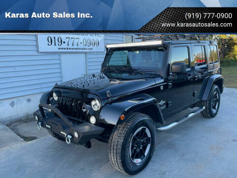 2014 Jeep Wrangler Unlimited for sale at Karas Auto Sales Inc. in Sanford NC
