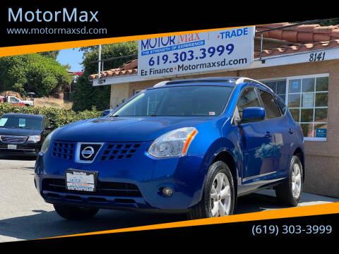 2008 Nissan Rogue for sale at MotorMax in Lemon Grove CA
