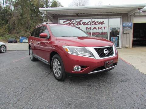 2014 Nissan Pathfinder for sale at Hibriten Auto Mart in Lenoir NC