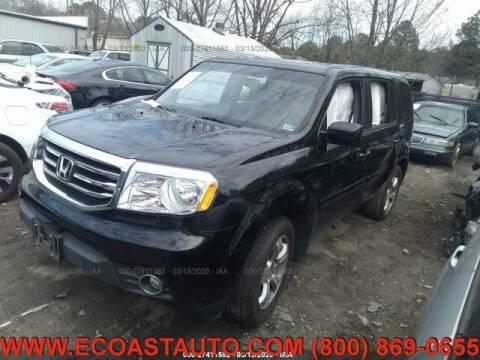 2015 Honda Pilot for sale at East Coast Auto Source Inc. in Bedford VA