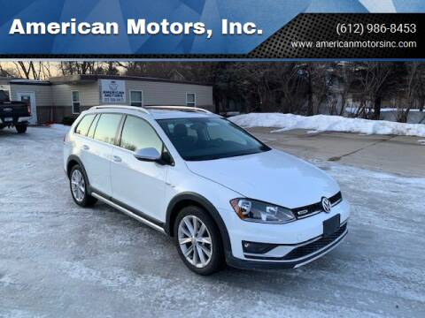 2017 Volkswagen Golf Alltrack for sale at American Motors, Inc. in Farmington MN