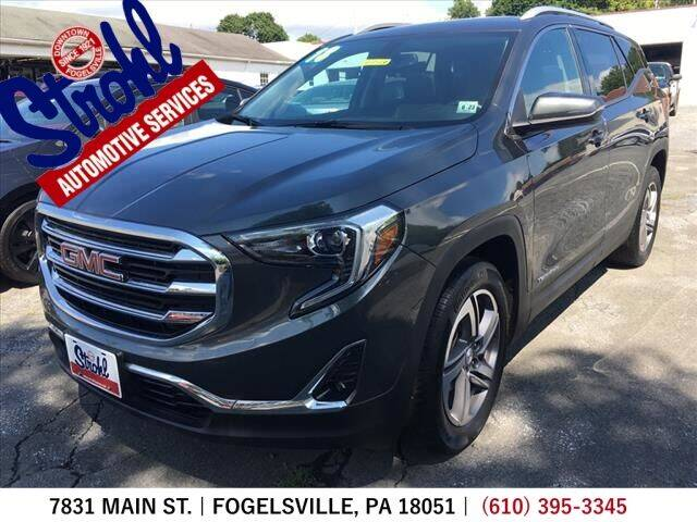 2018 GMC Terrain for sale at Strohl Automotive Services in Fogelsville PA