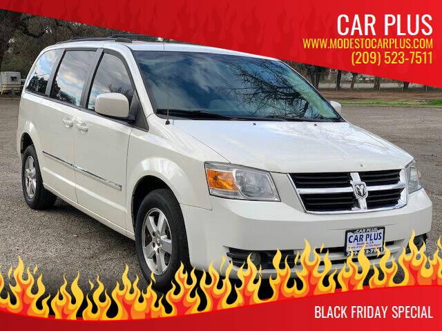 2008 Dodge Grand Caravan for sale at CAR PLUS in Modesto CA