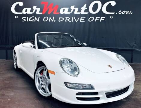 2008 Porsche 911 for sale at CarMart OC in Costa Mesa, Orange County CA