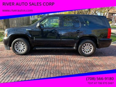 2008 Chevrolet Tahoe for sale at RIVER AUTO SALES CORP in Maywood IL