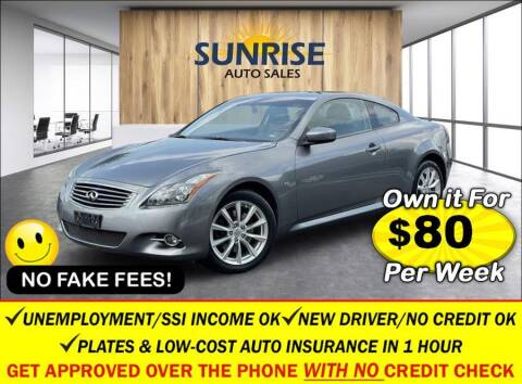 2014 Infiniti Q60 Coupe for sale at AUTOFYND in Elmont NY