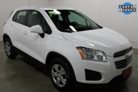 2015 Chevrolet Trax for sale at Bob Clapper Automotive, Inc in Janesville WI