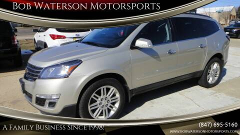 2015 Chevrolet Traverse for sale at Bob Waterson Motorsports in South Elgin IL