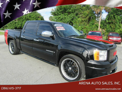 2008 GMC Sierra 1500 for sale at ARENA AUTO SALES,  INC. in Holly Hill FL