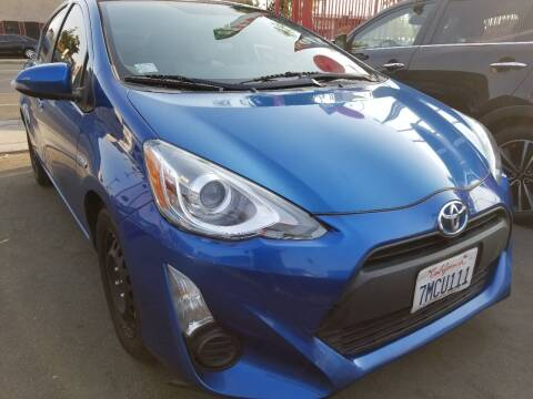 2015 Toyota Prius c for sale at Ournextcar/Ramirez Auto Sales in Downey CA