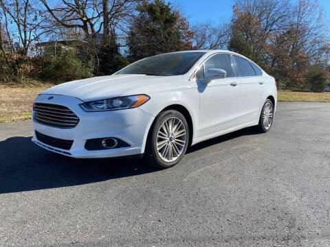 2014 Ford Fusion for sale at Harbin Motors in Portland TN