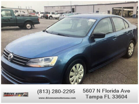 2016 Volkswagen Jetta for sale at Drive Now Motors USA in Tampa FL