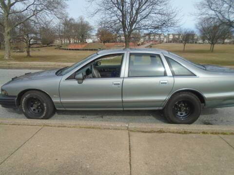 1994 Chevrolet Caprice for sale at 28TH STREET AUTO SALES AND SERVICE in Wilmington DE