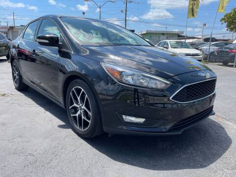 2018 Ford Focus for sale at MIAMI AUTO LIQUIDATORS in Miami FL