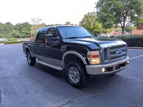2008 Ford F-250 Super Duty for sale at United Luxury Motors in Stone Mountain GA