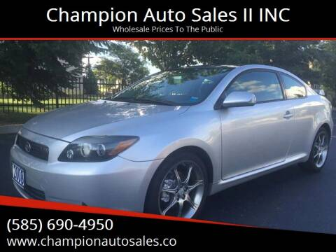 2008 Scion tC for sale at Champion Auto Sales II INC in Rochester NY