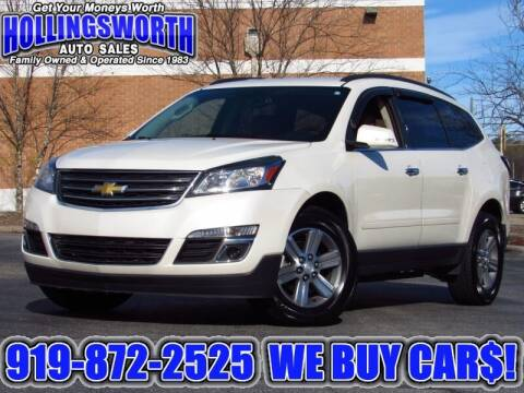 2015 Chevrolet Traverse for sale at Hollingsworth Auto Sales in Raleigh NC