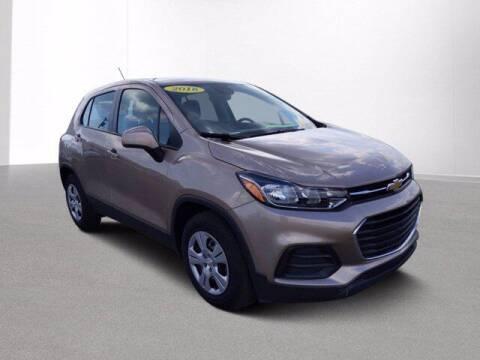 2018 Chevrolet Trax for sale at Jimmys Car Deals at Feldman Chevrolet of Livonia in Livonia MI