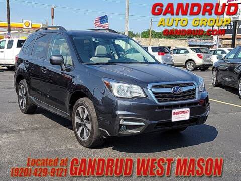 2018 Subaru Forester for sale at GANDRUD CHEVROLET in Green Bay WI