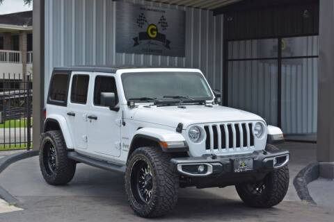 2018 Jeep Wrangler Unlimited for sale at G MOTORS in Houston TX