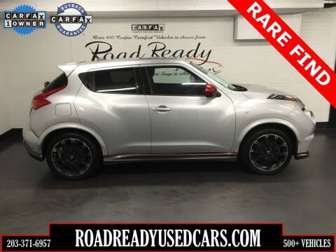 2014 Nissan JUKE for sale at Road Ready Used Cars in Ansonia CT