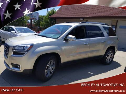 2016 GMC Acadia for sale at Berkley Automotive Inc. in Berkley MI