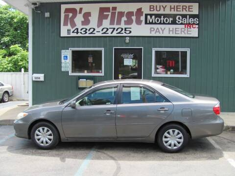 2006 Toyota Camry for sale at R's First Motor Sales Inc in Cambridge OH