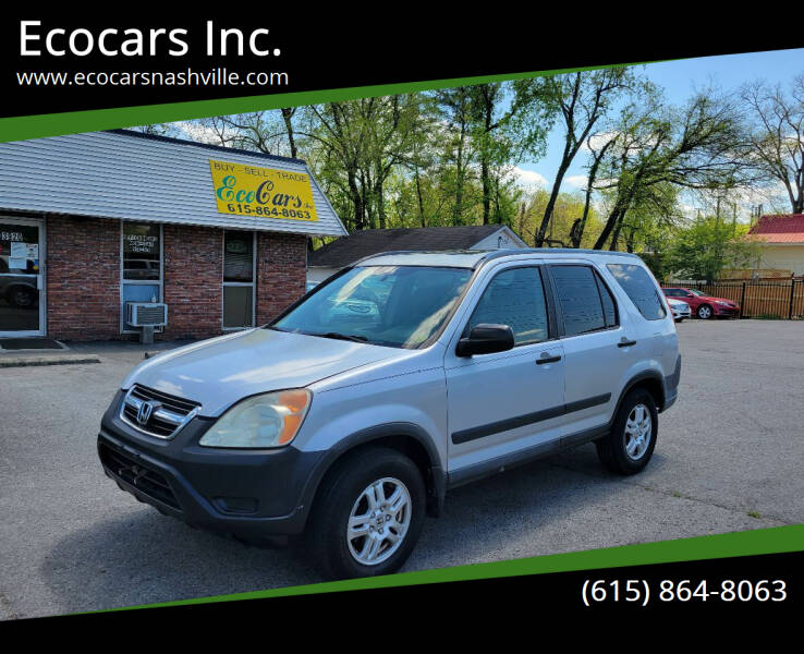 2004 Honda CR-V for sale at Ecocars Inc. in Nashville TN