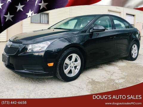 2014 Chevrolet Cruze for sale at Doug's Auto Sales in Columbia MO