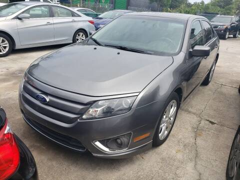 2011 Ford Fusion for sale at Track One Auto Sales in Orlando FL