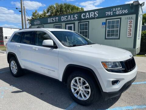 2014 Jeep Grand Cherokee for sale at Best Deals Cars Inc in Fort Myers FL