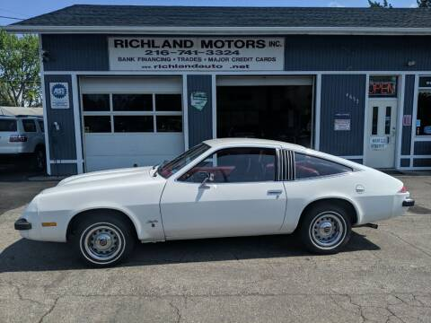 1975 Oldsmobile STAR FIRE for sale at Richland Motors in Cleveland OH