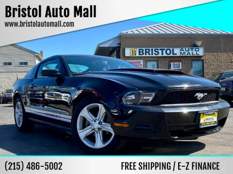 2010 Ford Mustang for sale at Bristol Auto Mall in Levittown PA